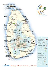 map in road sri lanka road map delux holidays
