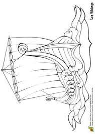 viking ship coloring page drakkar a viking ship coloring page cards pinterest vikings
