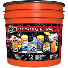 armor all car care gift pack 10 piece bucket walmart com