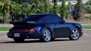 Porsche 911 1st Generation - 1991 porsche 911 turbo coupe s15 monterey 2016
