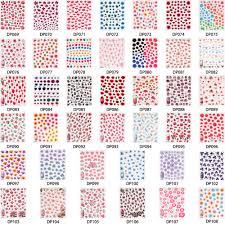 cartoon heart nail art design tutorial aliexpress com buy 1pc cute 3d nail sticker cat flower glass