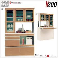 double sided kitchen cabinets ms 1 rakuten global market kitchen shelf double sided type open