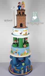 mario cakes mario wedding cake cakecentral