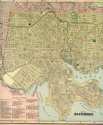 Baltimore Usa Map by 1900 City Directories For The City Of Baltimore Maryland Usa At
