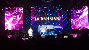 ar rehman sung a song in different language in canada 2017 youtube