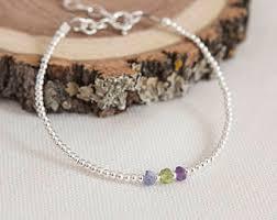 mothers day birthstone bracelet birthstone bracelet etsy