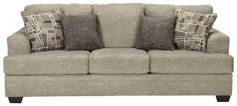 traditional sleeper sofa benchcraft barrish contemporary queen sofa sleeper with flared
