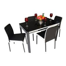dining room table new recommendation dining table set dining dining room table shino dining table set in black glass colour piece set cool dining