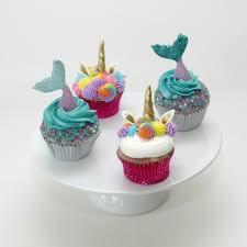 mermaid cupcakes unicorn and mermaid cupcakes