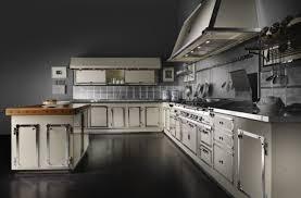 küche retro designer edelstahl küche officine gullo im eleganten retro stil