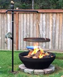 Firepit Grill Swivel Pit Grill Surprisingly Easy Pits Anyone Can Make