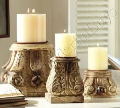 Pottery Barn Pillar Candles 14 Best Pillar Candle Holders Images On Pinterest Pillar Candle