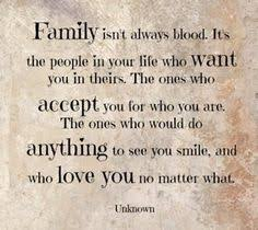this is important to me because it is your family you should be able