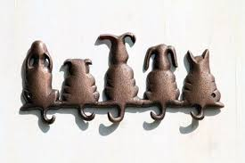 cute dog wall hooks for animal pet lovers decorative wall hooks cute dog wall hooks for animal pet lovers