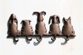 animal decorative wall hooks