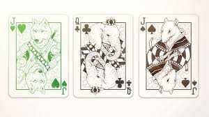animal themed deck of cards boing boing