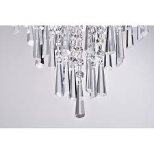 Double Drum Shade Chandelier Light Double White Drum Shade Crystal Pendant Chandelier