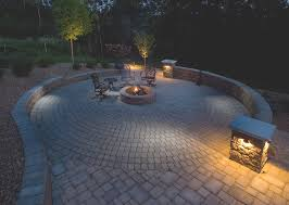 Fire Columns For Patio Firepits Gallery Willow Creek Paving Stones