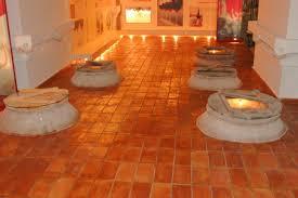 indoor tile floor terracotta matte rectangular ceramicas