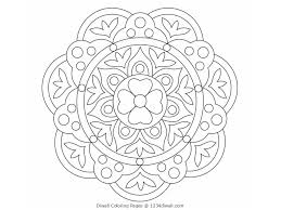 diwali coloring pages rangoli coloring pages for kids with diwali