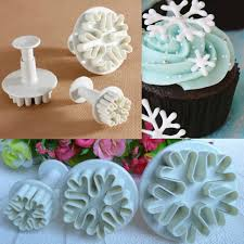 online buy wholesale snowflake fondant cutters from china