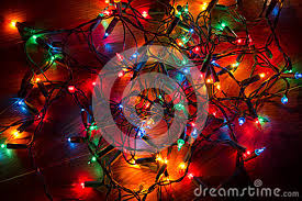 tangled christmas lights royalty free stock photo cartoondealer