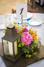 table center pieces 45 best centerpieces wood slab lantern images on