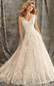 Vintage Lace Wedding Dress Beautiful Vintage Lace Princess Wedding Dress Hsnci0002