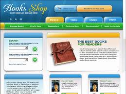 free website templates with books theme 1