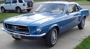 1967 blue mustang mustang gt california special