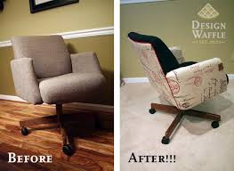office chair makeover design waffle