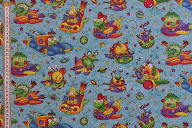 themed material themed fabric material