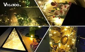 Solar Powered Rv Awning Lights Vmanoo Led String Lights 72 Feet 200 Led Solar Powered Copper Wire