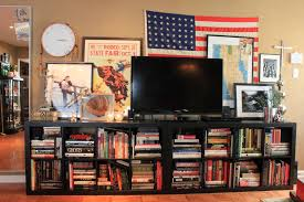 Low Bookcases Marvelous Ikea Low Bookcase Design For Tv Stand Using Black