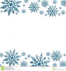 holiday snowflake border clip art 30