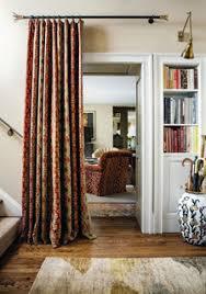 Curtains For Doorways Hang Portieres In Open Doorways Floor Length Drapes Hung Between