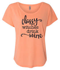 Funny Halloween Shirt by Classy Witches Drink Wine Halloween Shirt Funny Halloween