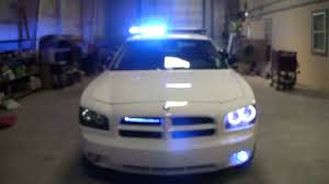 strobe lights for car headlights advanced automotive concepts custom lighting on dodge charger youtube