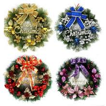 Cheap Elegant Christmas Decor by Online Get Cheap Elegant Christmas Wreaths Aliexpress Com