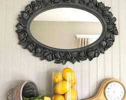 Bronze Bathroom Mirrors by Baroque Mirror Oil Rubbed Bronze Bathroom Mirror Shabby