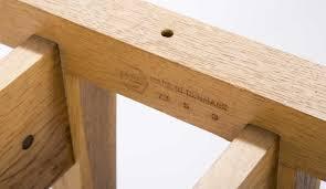 modern trestle table