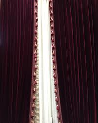 brown cream fabric panel sliding curtain with floral and stripped