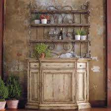 Cheap Bakers Rack Hooker Furniture Wakefield Three Door Three Drawer Distressed