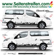 nissan nv200 nissan nv200 mountain edition matterhorn side stripe sticker