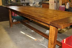 how to build an easy table make a table for your dining room sidetracked sarah