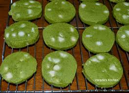 varada u0027s kitchen matcha cookies green tea cookies