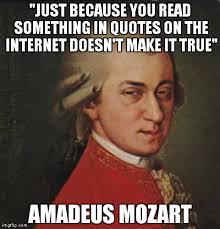 Make Internet Meme - mozart not sure meme imgflip
