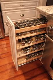 Kitchen Cabinet Organizer Racks Kitchen Cabinets Spice Rack Pull Out Home And Interior