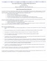 Resume Samples Higher Education Administration by Federally Recognized Tribes Nmu Center For Native American Studies