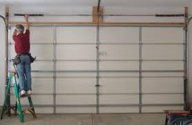 Installing Overhead Garage Door To Replace Garage Door Torsion Springs